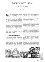 The Strange Enigma of Plotinus - Rosicrucian Order