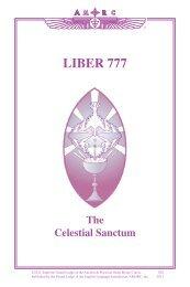 002 Liber 777 1011 - Rosicrucian Order