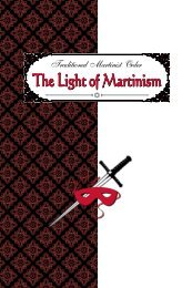 The Light of Martinism - Rosicrucian Order