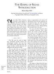 The Gospel of Judas: Introduction - Rosicrucian Order