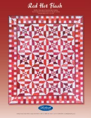 Red Hot Flashes - Rosie's Calico Cupboard Quilt Shop
