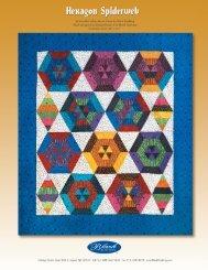 Hexagon Spiderweb - Rosie's Calico Cupboard Quilt Shop