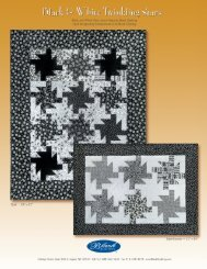 Black and White Twinkling Stars - Rosie's Calico Cupboard Quilt Shop