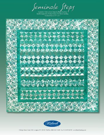 Seminole Steps - Click here for FREE PDF File Pattern
