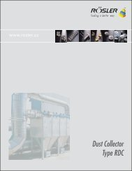 Dust Collector Type RDC