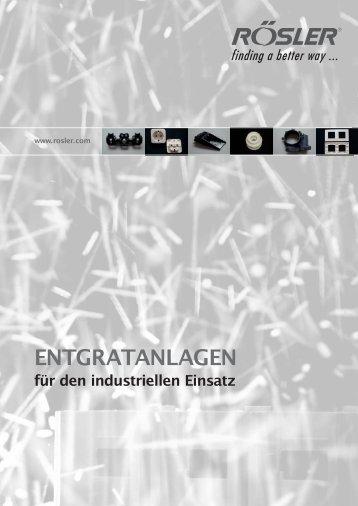 ENTGRATANLAGEN - Rösler Vibratory Finishing