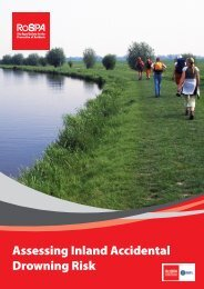 Inland Waters Risk Assessment - RoSPA