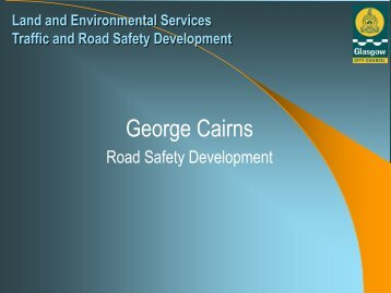 Land and Environmental Services Road Safety Development - RoSPA