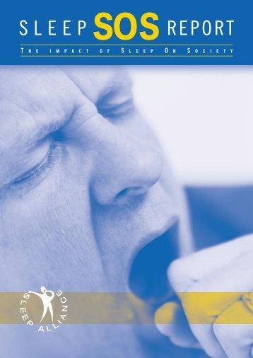 Sleep SOS Report : The impact of sleep on society - RoSPA