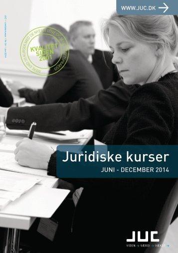 Juridiske kurser juni-december 2014