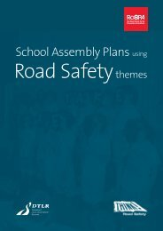 School Assembly Plans Using Road Safety Themes - RoSPA
