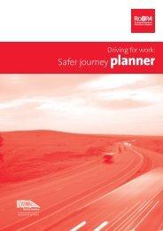 Driving for Work: Safer Journey Planner - RoSPA