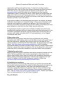 National Occupational Safety and Health Committee ... - RoSPA - Page 6
