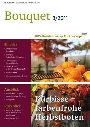 farbenfrohe Herbstboten - Dkv-Residenz in der Contrescarpe