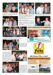 Ein geselliges Bierfest. Prost! - Bierfestzeitung