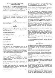 Benutzungsordnung für die Rehberghalle der Gemeinde Roßdorf