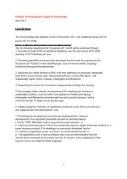 Land Supply Analysis - Rossendale Borough Council