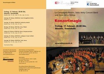 Konzert Flyer - La Compagnia Rossini