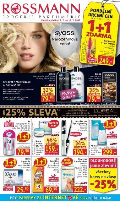 25% SLEVA - Rossmann
