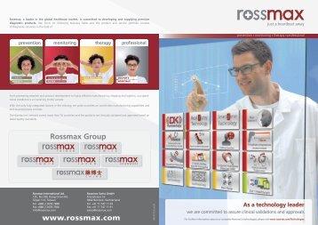 English - Rossmax