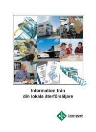 Läs vår broschyr om samarbetet med INA - Röstberg & Bengtsson