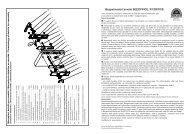 Návod montáže - BK 802 OFFICE (PDF, 274 kB) - Rostex