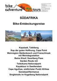 SÜDAFRIKA - Bike Adventure Tours