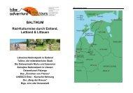 BALTIKUM - Bike Adventure Tours