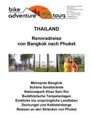 THAILAND - Bike Adventure Tours
