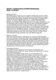 Bolivien-Reise 2013 - Bergerlebnis Toni Freudig
