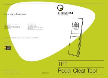 TP1 Pedal Cleat Tool - Ergon