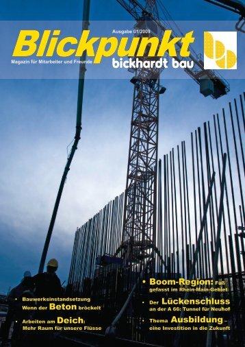 Blickpunkt - Bickhardt Bau AG
