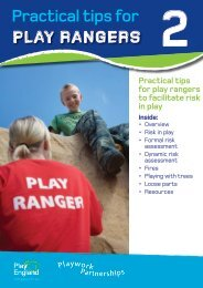 Practical tips for - Play England