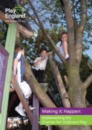 Making it Happen: Implementing the Charter for ... - Play England