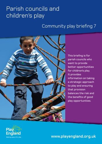 Parish councils and children's play - Play England
