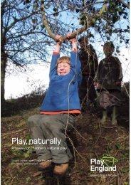 Play, naturally - Play England