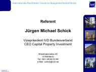Internationale Real Estate Trends im Spiegelbild ... - Rostock Business
