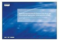 Wachstumspotenziale fır R ostock aus S icht des ... - Rostock Business