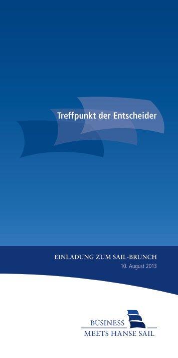 Druckversion Programm Sail-Brunch (pdf) - Rostock