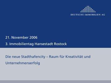 PowerPoint-Präsentation - Deutsche Immobilien AG - Rostock