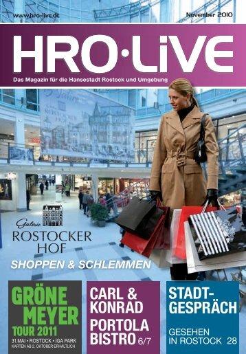 XXX - HRO·LIFE - Das Magazin für die Hansestadt Rostock