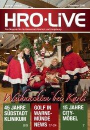 Golf IN WarNe - HRO·LIFE - Das Magazin für die Hansestadt Rostock
