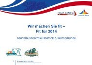 Wir machen Sie fit – Fit für 2014 - Rostock Marketing