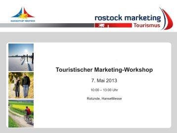 TOP 3: Aktivitäten - Rostock Marketing