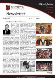 19th May 2011 No. 12 Vol 39 - Rostrevor College