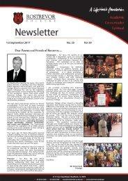 1st September 2011 No. 25 Vol 39 - Rostrevor College