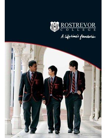 Prospectus web.pdf - Rostrevor College