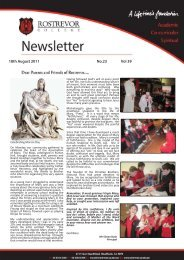18th August 2011 No.23 Vol 39 - Rostrevor College