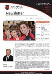 Print_Newsletter T1_W7_2012.indd - Rostrevor College