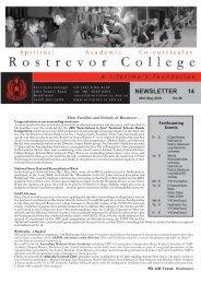 News 14.pmd - Rostrevor College